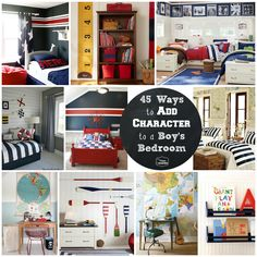 After standing on the edge of the dock staring into the water for the last several months we are FINALLY jumping into finishing off our boys' shared bedroom and I have been collecting a ton of fabulous ideas for ways to make a boy's bedroom creative and unique. If you follow me on Pinterest you …