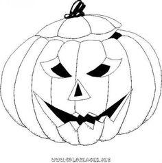 coloriage Halloween Citrouilles gratuit