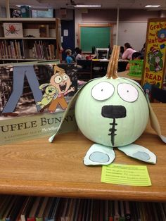 Naramake Elementary School Library Book Character Pumpkin Decorating Contest 2015
