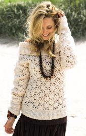 Ricco Sweater - Free Crochet Pattern - (lanagrossa)
