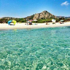 Meravigliosa spiaggia di  BERCHIDA ( costa di Siniscola-NU )-Sardinia #Cerdeña #Sardegna