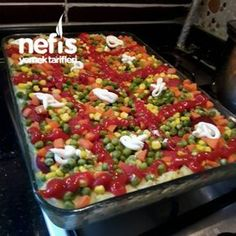 Anında Biten Tepside Kumpir – Sulu yemek – The Most Practical and Easy Recipes No Gluten Diet, Turkish Recipes, Ethnic Recipes, Baked Potato Recipes, Baked Potatoes, Pizza Recipes, Original Recipe, Food And Drink, Appetizers