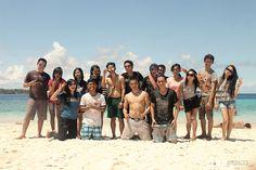 when i take pict of them at Lihaga Island