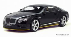 Awesome Diecast - GT Spirit 1:18 Bentley Continental GT Speed Breitling Edition , $149.95 (http://www.awesomediecast.com/gt-spirit-1-18-bentley-continental-gt-speed-breitling-edition/)