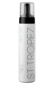 Tropez self tanner. THE BEST self tanner! It has NO ORANGE at all. It's the most natural looking self tanner. Trust me, I've tried them all. I recomend getting the application mit with the foam. it's awesome! available at sephora Best Tanning Lotion, Tanning Tips, Tanning Products, Diy Beauty, Beauty Hacks, Beauty Tips, Beauty Products, Beauty Stuff, Beauty Ideas