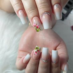 Garra, White French Tip, French Tips, Manicure And Pedicure, Summer Nails, You Nailed It, Nail Colors, Nail Designs, Nail Art