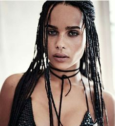 "Zoe kravitz  #blackwomen  when your parents are Lisa Bonet  and Leny Kravitz, you've got no choice but to have ""it"""