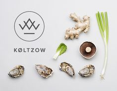 When seafood & fine meats company Køltzow (est. needed a new identity, it felt like a natural choice to photograph some of their beautiful products and experienced employees. Also, the new symbol reflects the origins of the products; the K of Køltzo… Seafood Store, Web Design Logo, Wine Bottle Design, Logo Food, Brand Packaging, Graphic Design Inspiration, Behance, Branding, Origins