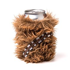 Carry your drink around in Chewie's can cooler. Or, rather, a little can cooler that looks like Chewie. Nobody will dare try to take your drink, because they know they'll be faced with a mighty roar if they do.