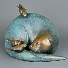 Georgia Gerber Bronze Sculptures | Gallery Mack Art Connections, Seattle, WA