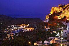 Kythira by Night-Greece