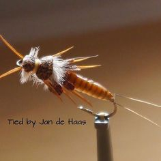 Stonefly #barbless #deercreek #deercreekresin #flyfishing #flytying