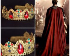 Dolce Male Crown Runway Silver Male Crown by Elviejewelrydreams