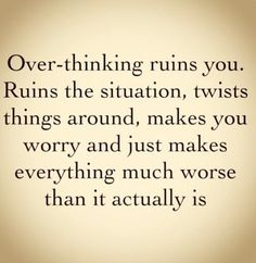 Overthinking this quote...