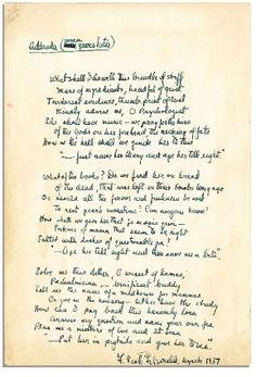 F. Scott Fitzgerald poem