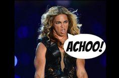 Watch: Beyonce Sneezes, Gets Sued For Lemonade - BandRumors.com #Beyonce