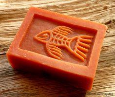 Cinnamon and chocolate soap