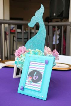 The Little Mermaid Birthday Party Ideas | Photo 1 of 15