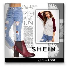 """""""Shein"""" by anelaa1923 ❤ liked on Polyvore featuring Söfft"""