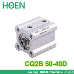 CQ2B50-40 SMC Type CQ2B series 50mm bore 40mm stroke Double Action single rod thin Pneumatic Compact Cylinder high quality #Affiliate