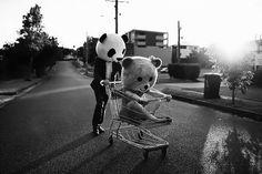 #Panda. Umiak ixateko aukeria ez dogu inoz galtzen, nahi da batzutan eskusak bihar doguzen holan jarduteko.