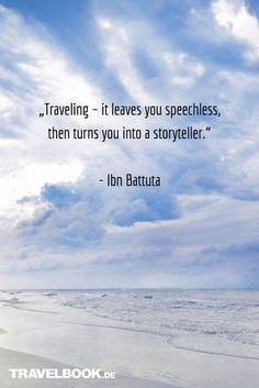 Die 52 besten Sprüche und Zitate rund ums Reisen