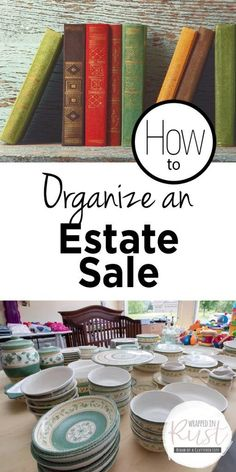 How to Organize an Estate Sale – Wrapped in Rust – Garage Organization DIY Garage Sale Pricing, Garage Sale Tips, Garage Sale Organization, Organization Hacks, Estate Sale Signs, Sales Tips, For Sale Sign, Selling Real Estate, Home Renovation