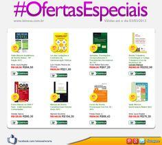 Confiram as #OfertasEspeciais da nossa Loja Virtual. www.leinova.com.br    * Toda semana, 8 títulos diferentes com 30% de desconto.  * Ofertas válidas enquanto durarem os estoques.