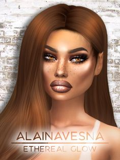 Alaina Vesna: Ethereal Glow Highlighter • Sims 4 Downloads