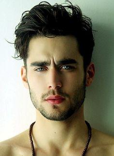 Men's Hair. Darkest Brown Ash Hair Color. #menshair #men #haircolor eSalon.com