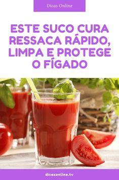 Suco de tomate beneficios