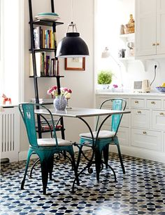 ChicDecó: 10 bellos ejemplos de suelos de baldosas10 beautiful patterned tile floors to get inspired