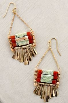 Jata Earrings - anthropologie.com