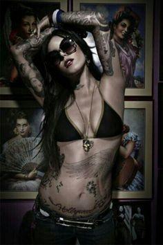 Kat Von D. LA Ink.