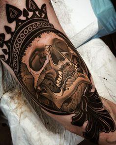 Tattoo artist Jacob J Gardner color neo traditional tattoo | Australia | #inkpplcom #tattooartist #tattoo #neotraditionaltattoo #neotraditionalart #neotrad #neotraditionaltattoo #modernart #color #colortattoo #neotraditional