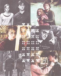 Hermione Granger & Harry Potter (Movie)