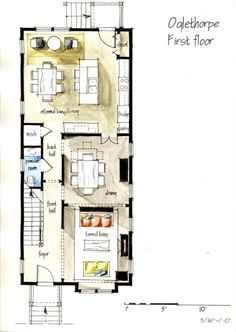 One Bedroom Floor Plans . One Bedroom Floor Plans . Impressive E Room House Plans with Images Condo Floor Plans, 3 Bedroom Floor Plan, Bedroom House Plans, The Plan, How To Plan, Floor Plan Sketch, Casa Top, Detail Architecture, Drawing Architecture