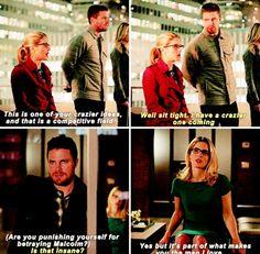Arrow - Felicity & Oliver #4.13 #Olicity