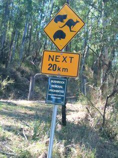 Australian Road Sign  http://homeshopping.ie
