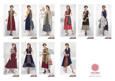 """Vastrikaa Plush Vol Fabric:   Base Georgett with inner with Mix Fabric + Accessories + Emb work Length: 48"""" - 52"""" Size:      M, L, XL , 2XL, 3XL Bag:      10 pcs Avg:      Rs 750/pc"""