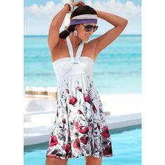 Venus Multi-way Dress ($46) ❤ liked on Polyvore featuring dresses, multi way dress, full length dress, convertible dress and multiway dress