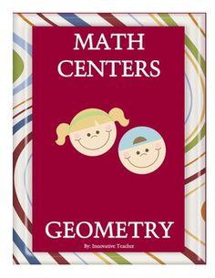 Math Centers Geometry - CCSS