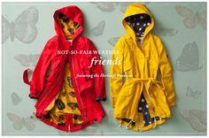 gorgeous rain coats!