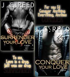 Surrender Your Love Series - J. C Reed - 5 Stars.   Soon to come - Treasure Your Love !