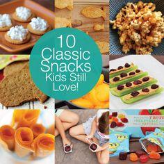 #Ad: 10 Classic Snacks Kids Still Love