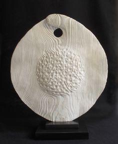 Big Elm Seed Pod - Cast Olive stone Ed 2/9