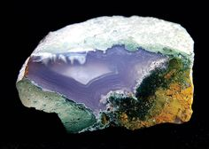 The moss agate from North Caucasus Russia.