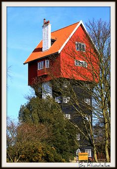 House in the Sky - Suffolk, England