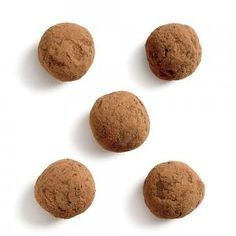 Cocoa Hazelnut Truffles Recipe | CookingLight.com #myplate #dairy