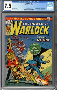 We just got this awesome book in: Warlock #5  CGC 7.5    http://coloradocomics.com/products/warlock-5-cgc-7-5?utm_campaign=social_autopilot&utm_source=pin&utm_medium=pin